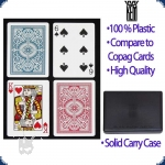 KEM Arrow Poker Size - Set of two decks (Regular Index)