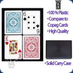 KEM Arrow Poker Size - Set of two decks (Jumbo Index)