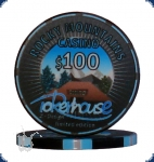 Pokerhouse - $100 Limited Edition (39mm, mit Textur)
