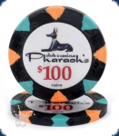 Pharaoh's Club Denom neu (Big Inlay) - $100 Chip