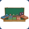 Paulson National Poker Series - Set 500 Chips (wooden case)