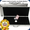 Paulson National Poker Series - Set 650 Chips (aluminium case)