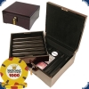 Paulson National Poker Series - Set 750 Chips (Mahogany)