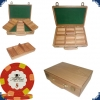 Paulson Tophat & Cane - Set 300 chips (wooden case)