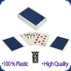 KEM Mendhi Bridge Size Pokerkarten - Blue Deck (Regular Index)