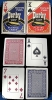 Derby Poker Size Cards - Single Deck Blau (Jumbo Index)