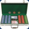 Nevada Jacks - Set 300 Chips (Aluminium case)