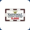Paulson National Poker Serie - Plaque 5000
