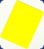 Cut Card yellow - Bridge Size