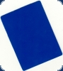Cut Card blue - Poker Size