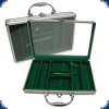 Aluminium Case (for 200 Chips) - alu/green
