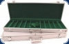 Aluminium Case (for 500 Chips) - alu/green