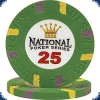 National Poker Series 25 Chip