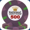 National Poker Series 500 Chip