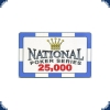 Paulson National Poker Serie - Plaque 25000