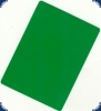 Cut Card green - Poker Size