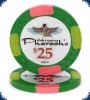 Pharaoh's Club Denom neu (Big Inlay) - $25 Chip