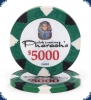 New Pharaoh's Club Denom (Big Inlay) - $5000 Chip