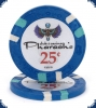 New Pharaoh's Club Denom (Big Inlay) - 25ct Chip