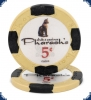 New Pharaoh's Club Denom (Big Inlay) - 5ct Chip