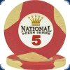 National Poker Series 5 Chip