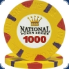 National Poker Series 1000 Chip
